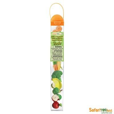 Frutas e Legumes [Tubo 8 peças]