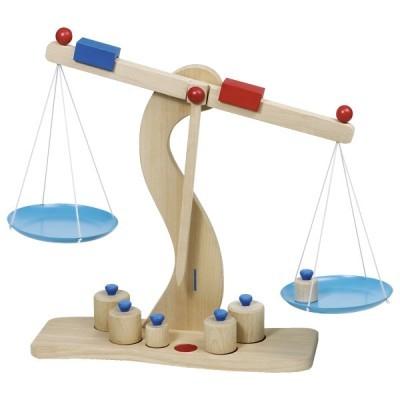 Balança de pesar [madeira]