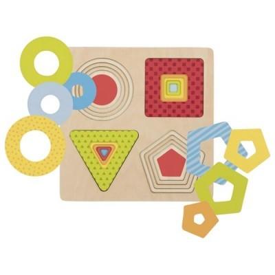 Formas geométricas [puzzle em níveis]