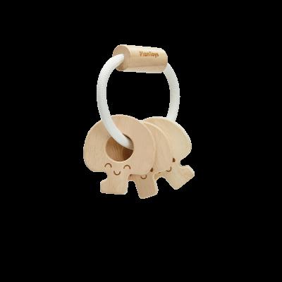Roca chave de bebé - natural [madeira]