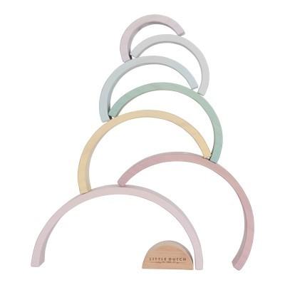 Arco-Íris rosa pastel [madeira]