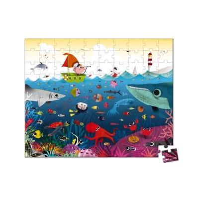 Puzzle Mundo Subaquático [100 peças]
