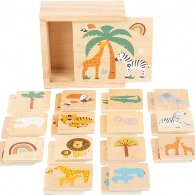Jogo da memória Safari [madeira]