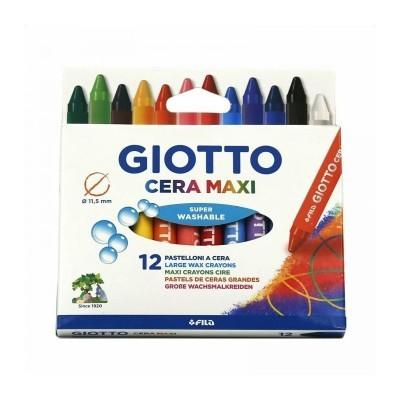 Lápis de cor, lápis de cera e marcadores