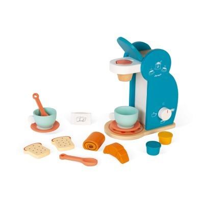 Máquina de Café e conjunto de pequeno almoço [madeira]