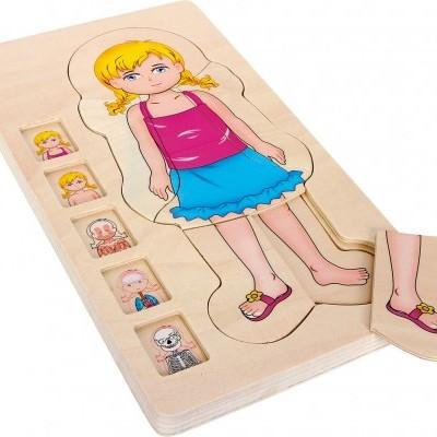 Puzzle do Corpo Humano [menina]