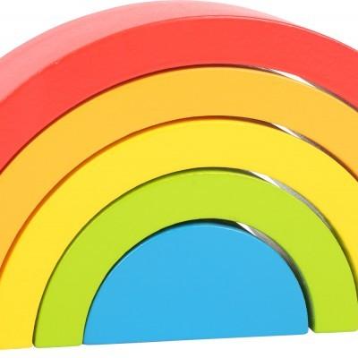 Arco-íris de madeira [16 cm]