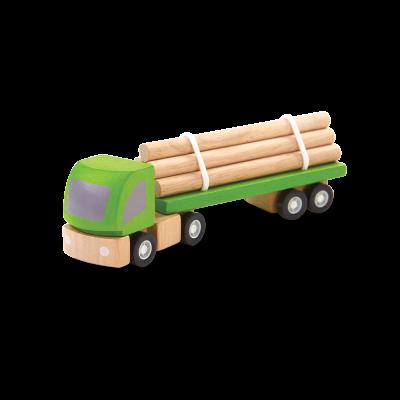 Camião de carga de madeira [madeira]