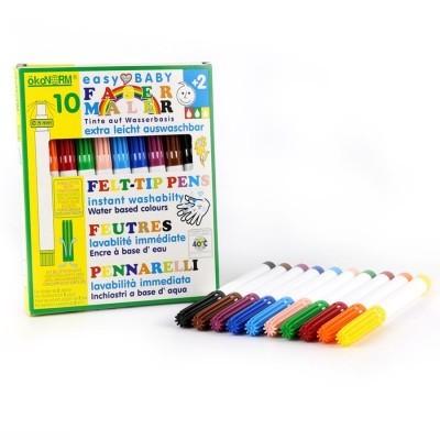 Marcadores para crianças pequenas [10 cores]
