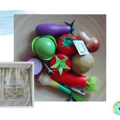 """Kit """"Os Legumes"""" [madeira]"""