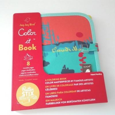 Livro em ardósia para Colorir: Monet