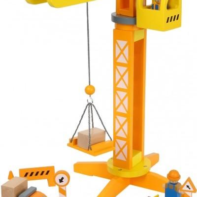 Guindaste de construção [madeira]