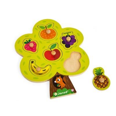 """Puzzle """"Árvores de frutos"""" [madeira]"""