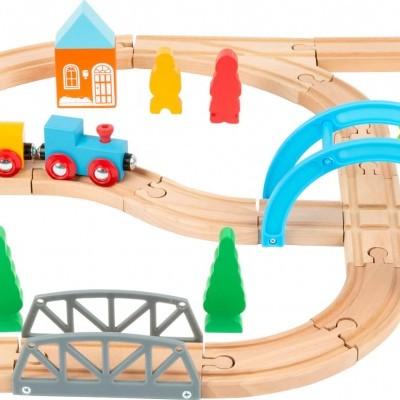 Pista de comboio [madeira]