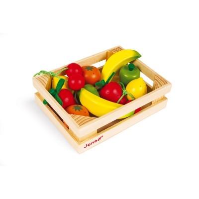 Caixa com 12 frutos