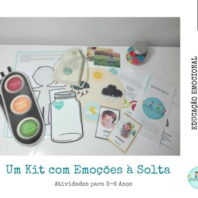 """Kit """"Emoções à Solta"""" [3-6 anos]"""