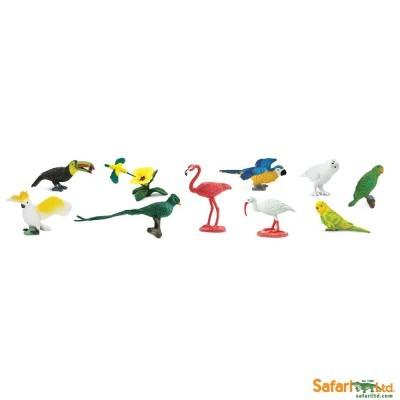 Aves Exóticas [Tubo 11 peças]