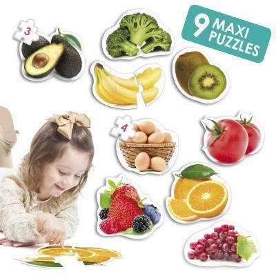 Maxi-Puzzle: Alimentos