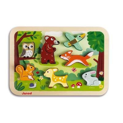 """Puzzle """"O Bosque"""" [madeira]"""