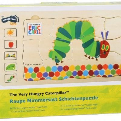 """Puzzle """"A lagartinha muito comilona"""" [madeira]"""