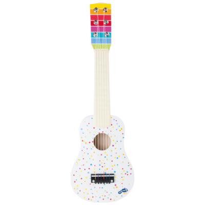 Guitarra pintas coloridas [madeira]