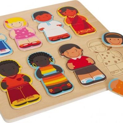 """Puzzle """"Crianças deste Mundo"""""""