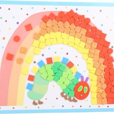 A Lagartinha Comilona: mosaicos criativos