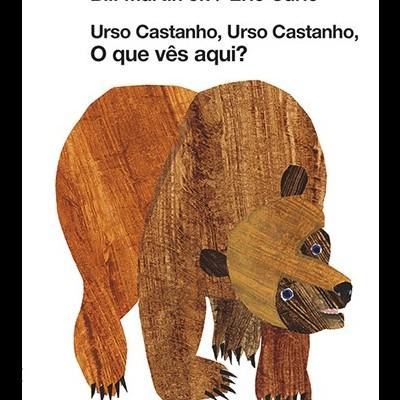 Urso castanho, urso castanho, o que vês aqui?