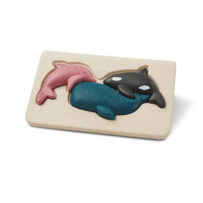 Animais Marinhos - primeiro puzzle [em madeira]