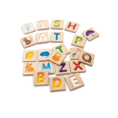 Alfabeto A-Z [madeira]