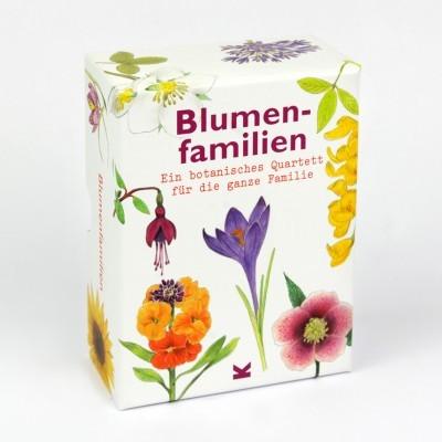 Famílias de Flores - Um quarteto botânico para toda a família