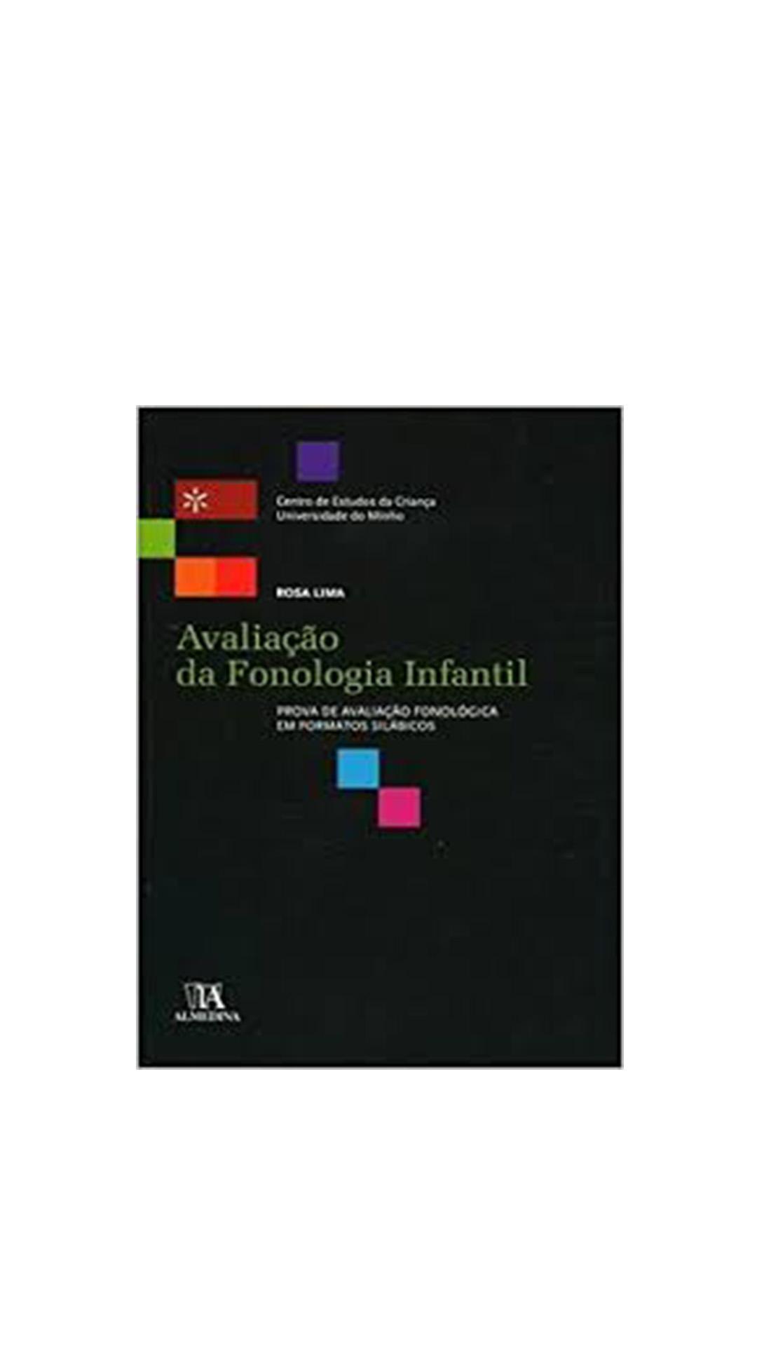 Avaliação da Fonologia Infantil - Prova de Avaliação Fonológica em Formatos Silábicos