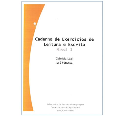 Cadernos de Exercícios de Escrita e Leitura (nível 1)