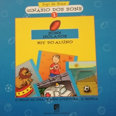 Ginásio dos Sons 1 - Sons isolados (Livro+CD-Rom)