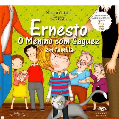 Ernesto - O menino com Gaguez em família