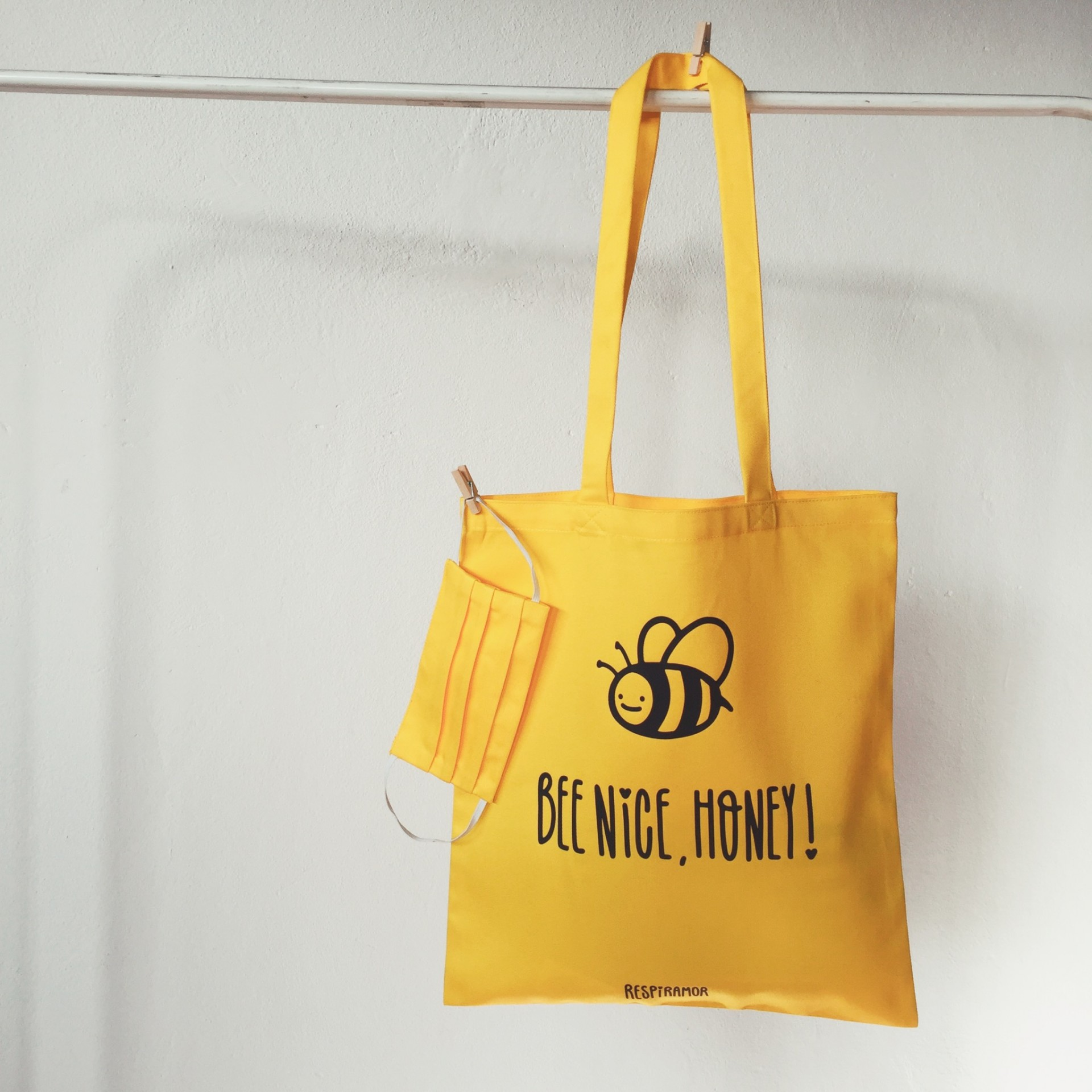 Tote Bag Bee Nice Honey ~ OFERTA MÁSCARA