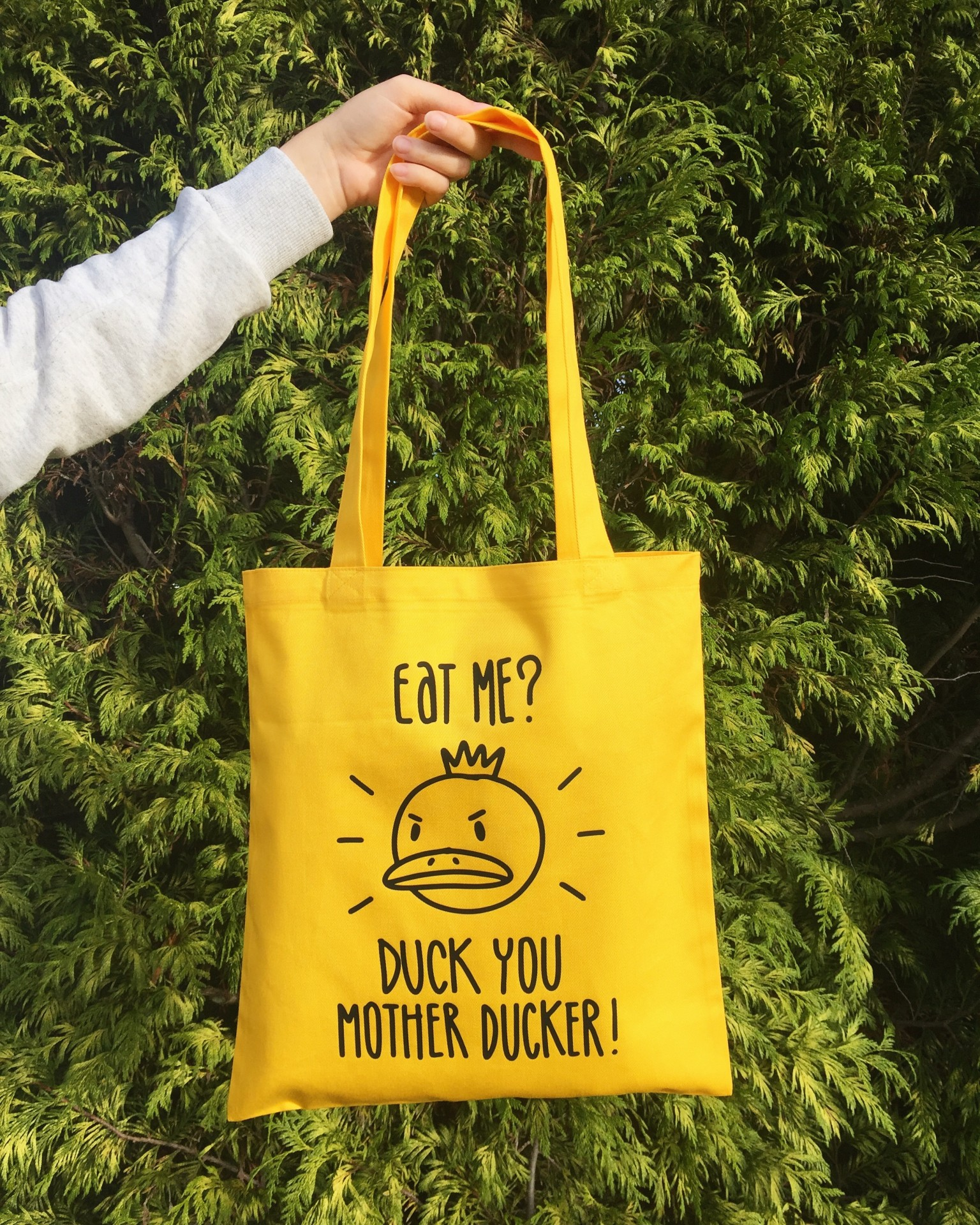 Tote Bag Amarelo | Duck You