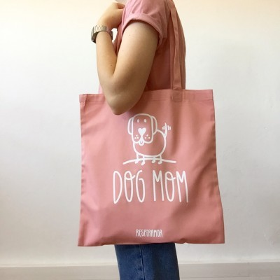 Tote Bag Rosa | Dog Mom