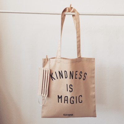 Tote Bag Kindness Is Magic ~ OFERTA MÁSCARA