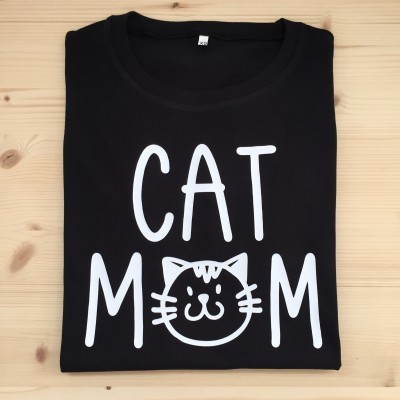 T-shirt Cat Mom