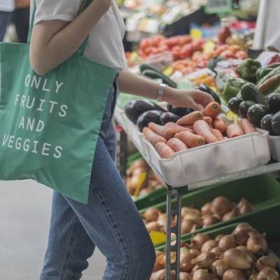 Tote Bag Only Fruits & Veggies