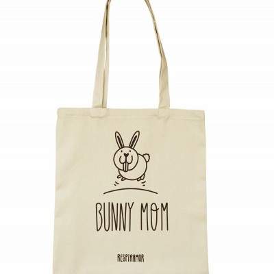 Tote Bag Bunny Mom