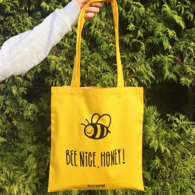 Tote Bag Bee Nice Honey