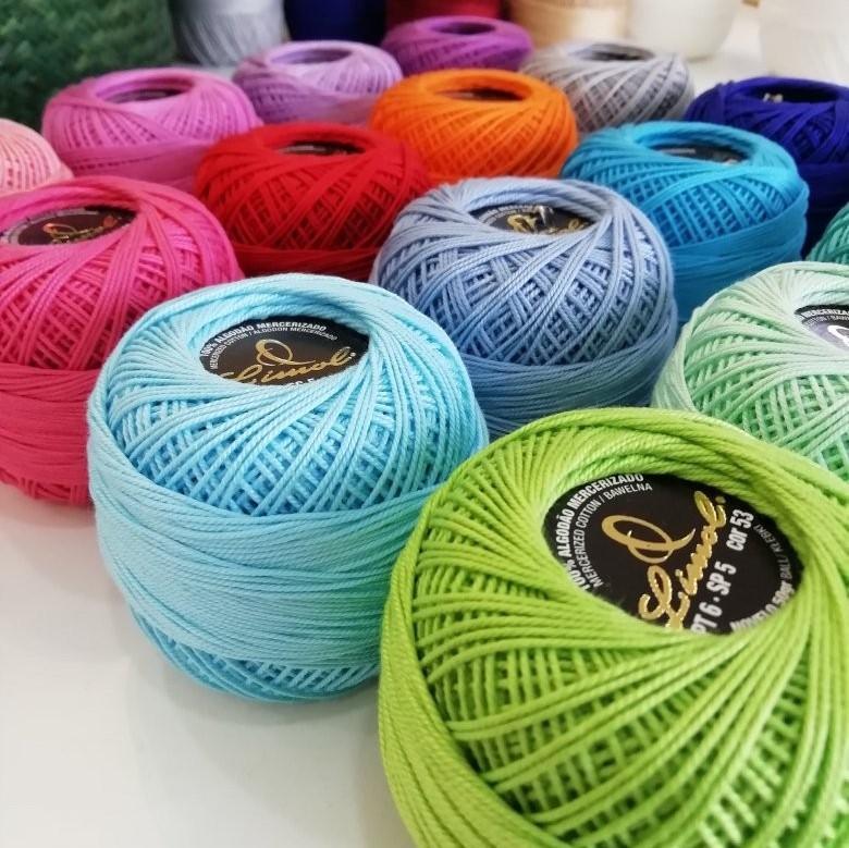 Linha Crochet n6 - 50g