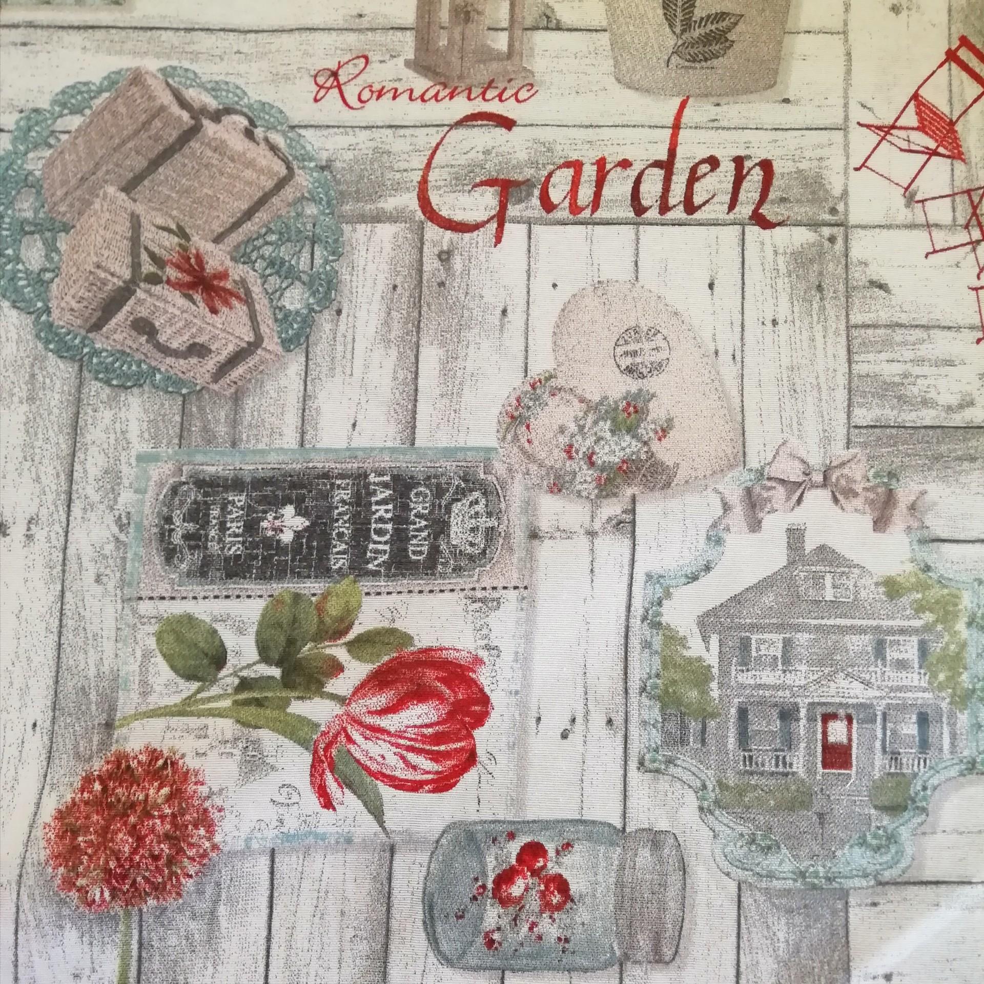 Tecido Romantic Garden