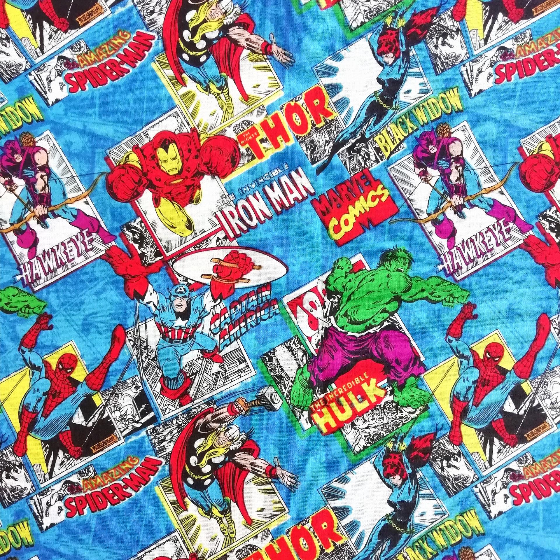 Tecido Marvel - avengers 2