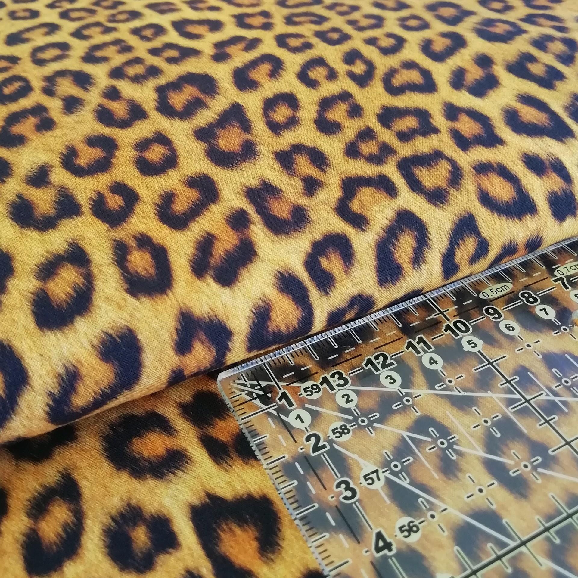 Tecido Leopardo 1