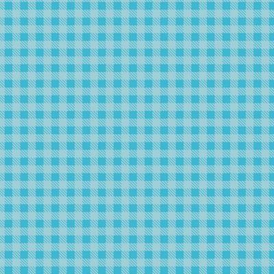 Tecido Fabricart - Xadrez Azul