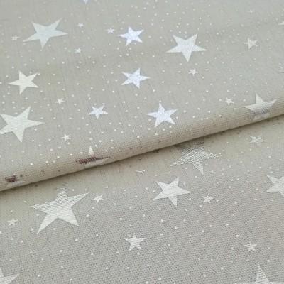 Tecido Stars silver