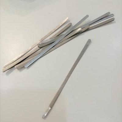 Clip nasal para máscaras ferro zincado